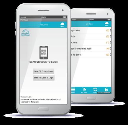 mobile workforce app mobile screenshot