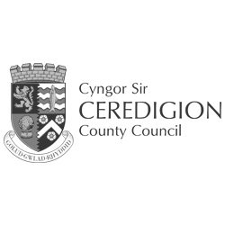 ceredigion county council logo