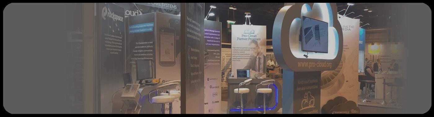 scotland works pro-cloud exhibition stand
