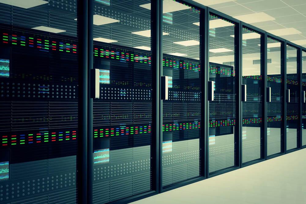 hosting server room