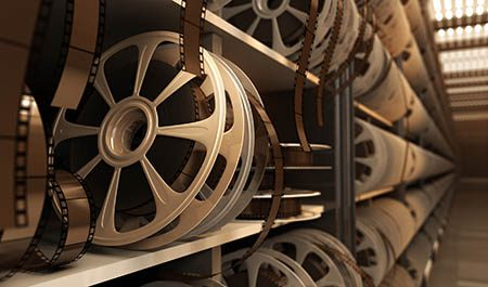 archive of video reels
