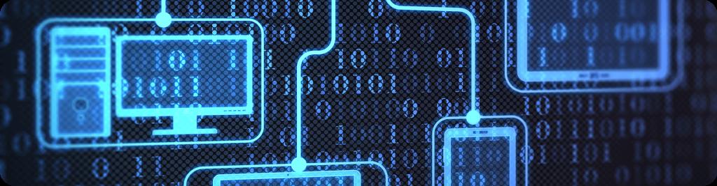binary code banner
