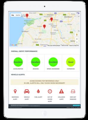 telemetrics tablet screenshot