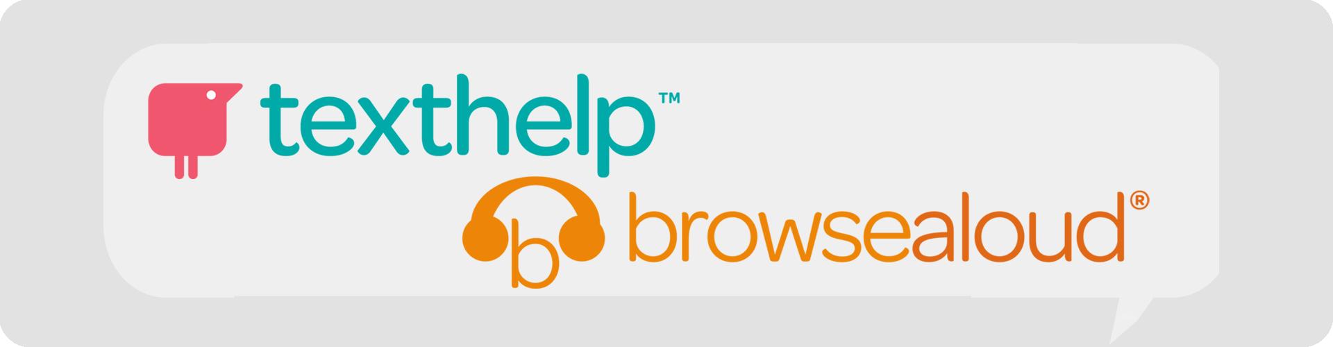 texthelp and browsealoud logo