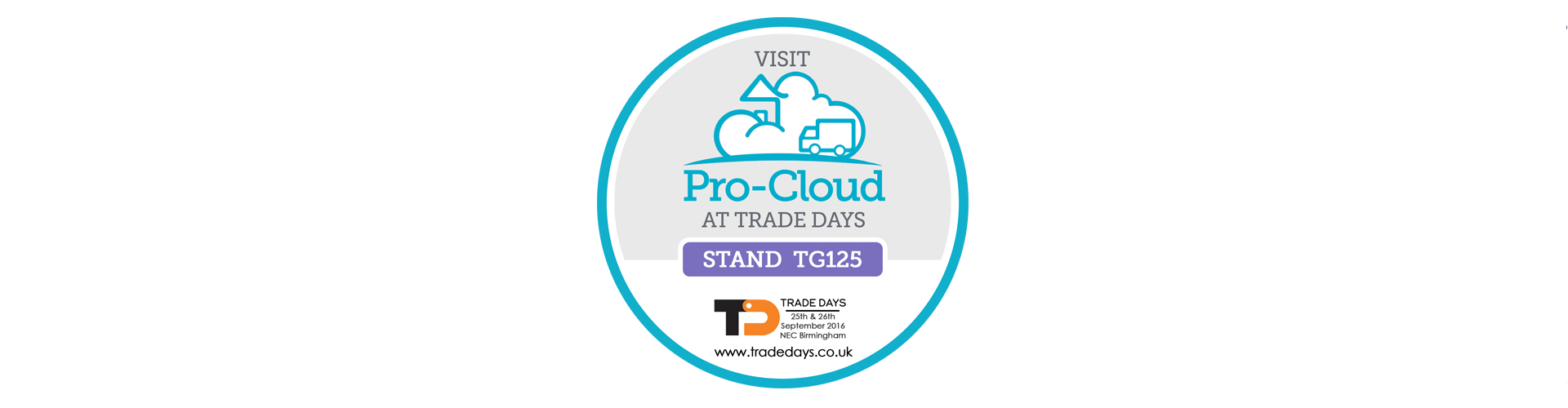 pro-cloud at trade days stamp
