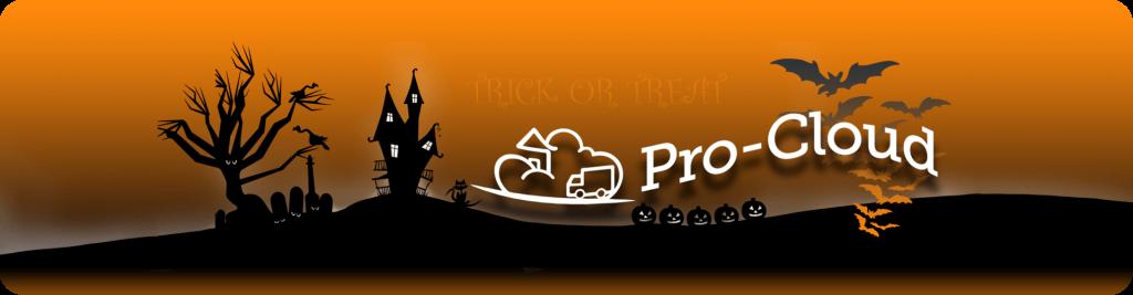 halloween pro-cloud banner