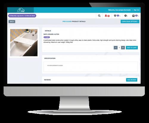 sales order processing desktop screenshot