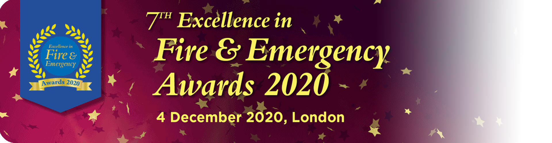 fire & emergency awards 2020 banner