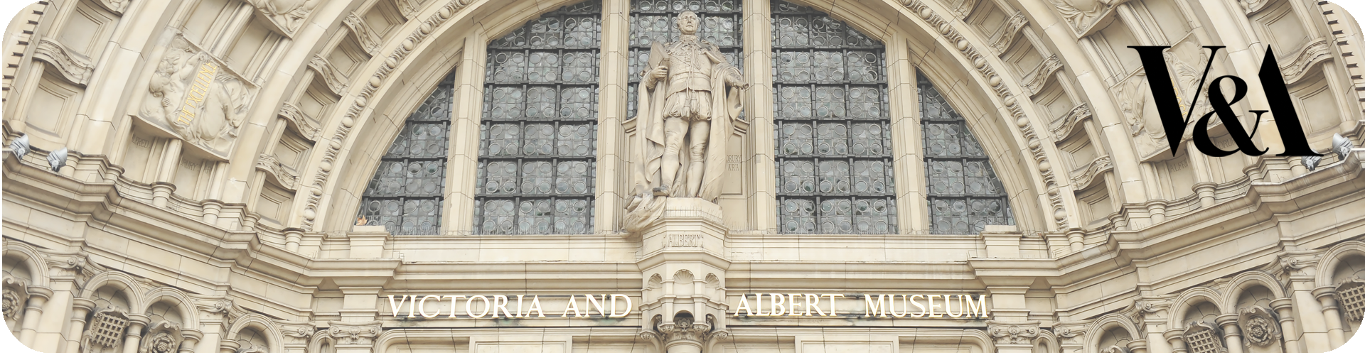Victoria and Albert front entrance