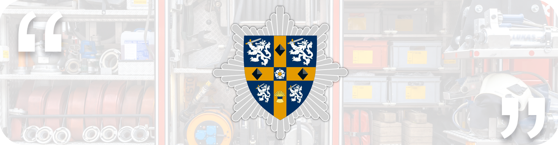 CDDFRS logo with quote marks
