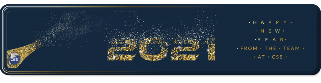 New year banner 2021