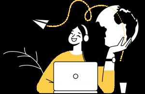 customer service illustration