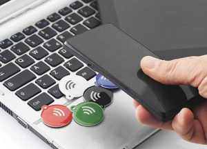 nfc tags and mobile phone