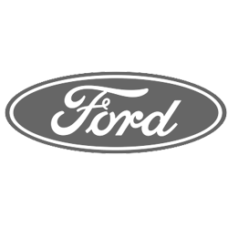 ford logo grayscale
